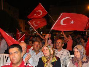 Akhisar demokrasi nöbeti 18. günü