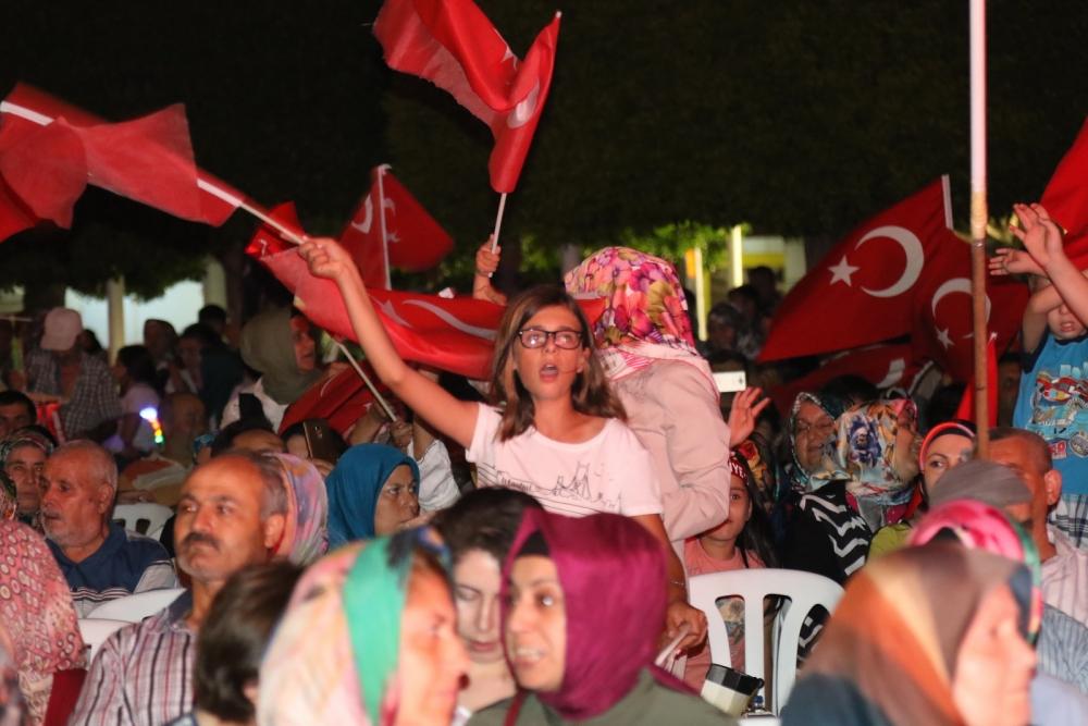 Akhisar'da demokrasi nöbetinin 19.günü galerisi resim 23