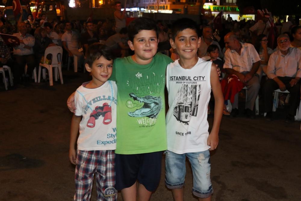 Akhisar'da demokrasi nöbetinin 19.günü galerisi resim 7
