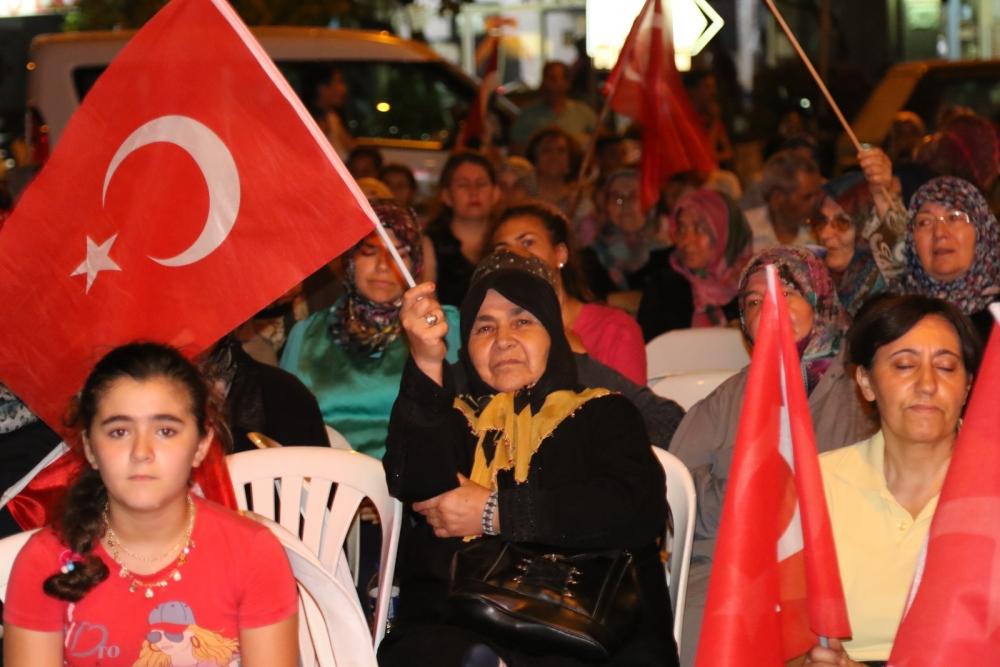 Akhisar'da demokrasi nöbetinin 19.günü galerisi resim 8