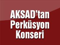 AKSAD'tan Perküsyon Konseri