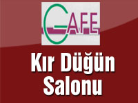 Gafe – Gürgendağ Kır Düğün Salonu