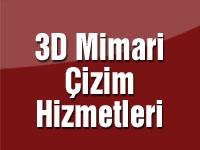 3D Mimari Çizim Hizmetleri