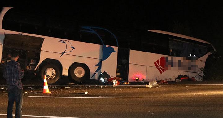 Akhisar'da trafik kazası 11 yaralı