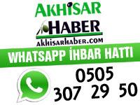 Akhisar Haber 'WhatsApp İhbar Hattı'