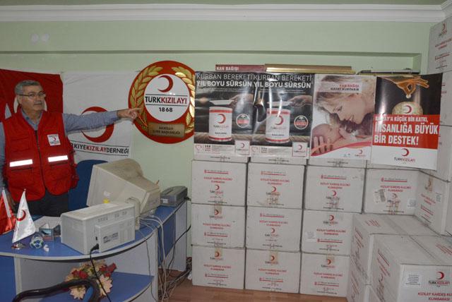 Orhan Çeçen; Kızılay ile kurban bereketi yıl boyunca sürecek