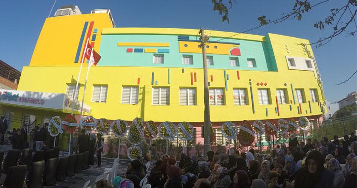 Özel Şefkat Anaokulu Açılışı ve İlkokulu Temeli Törenle Atıldı
