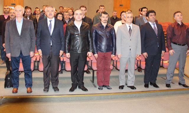 MCBÜ Akhisar yerleşkesi Ulu Önder Atatürk'ü andı