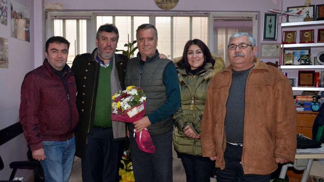 Kahveciler Oda Başkanı Güney, Gazeteciler Günümüzü Kutladı