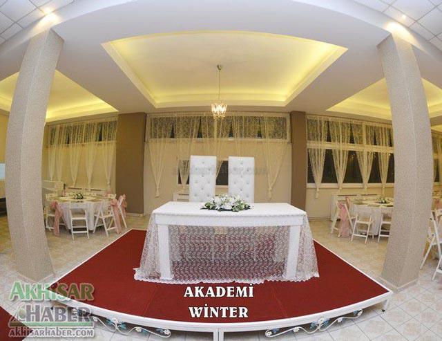 Akademi Winter Kışlık ve Yazlık düğün salonu hizmete açıldı