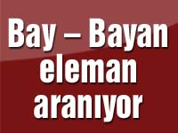 Bay – Bayan eleman aranıyor