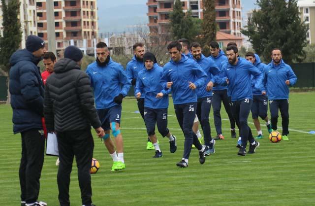 Akhisar Belediyespor'da Adanaspor maçı hazırlıkları