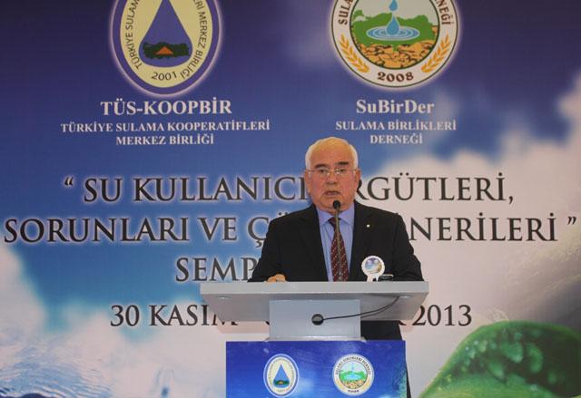 TÜSKOOP Başkanı Uysal, Dünya Su Gününü Kutladı