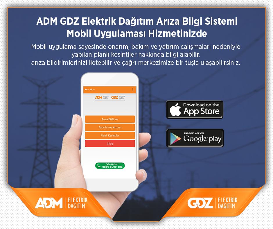 ADM - GDZ Elektrik Dağıtım, hizmeti mobile taşıdı