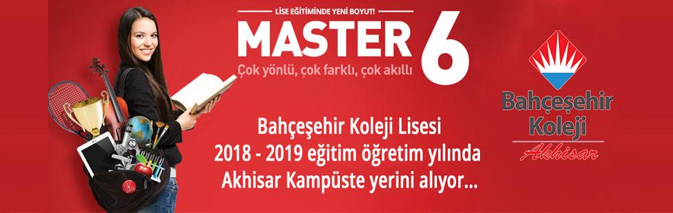 """""""Bahçeşehir Koleji Lisesi"""" Akhisar kampüste yerini alıyor"""