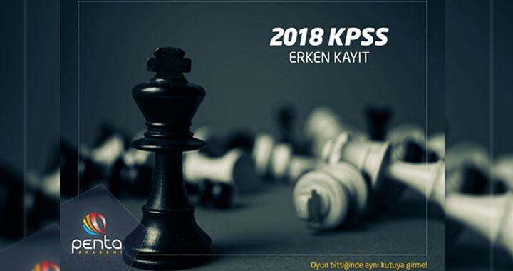 Penta Akademi 2018 KPSS erken kayıtları devam ediyor
