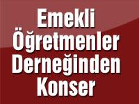 Türkiye Emekli Öğretmenler Derneğinden Konser