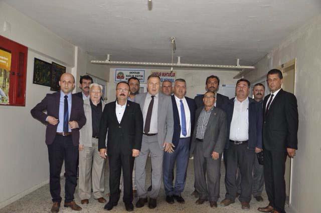 Muhtarlıklardan Akhisar'a tebrik ziyareti