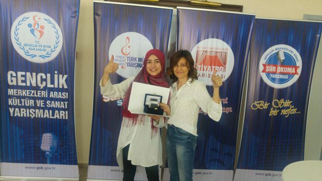 Zeynep Gülin Öngör MTAL'in kültürel başarıları devam ediyor