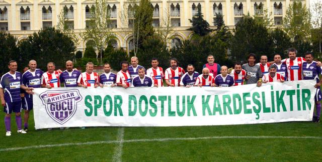 Akhisargücü, Antalya Masterlar maçında gol sesi çıkmadı 0-0