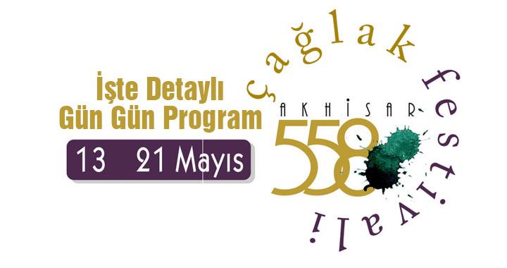 558. Çağlak Festivali gün gün detaylı programı