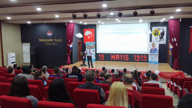 Akhisar'da Büyükşehir personeline motivasyon eğitimi