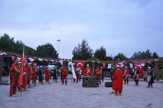 Mehterden festivale özel konser