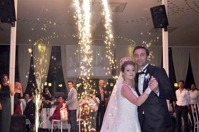 Seray ve Murat mutluluğa evet dediler