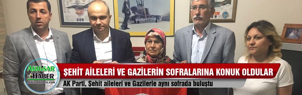 AK Parti, Şehit aileleri ve Gazilerle aynı sofrada buluştu
