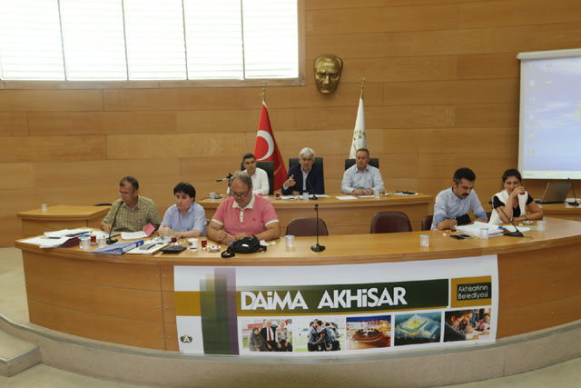 Akhisar Belediyesi 2017 yılı Temmuz ayı meclis toplantısı yapıldı