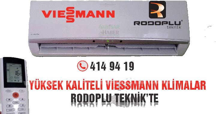 Akhisar Rodoplu Teknik'te Viessmann klimalar peşin fiyatına taksitle