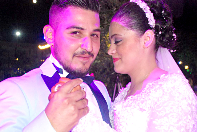 Ahmet ve Kadriye mutluluğa evet dediler