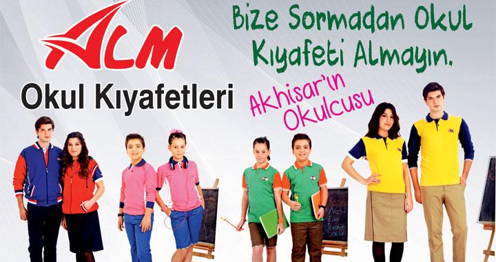 Tüm Okul Kıyafetleri, Akhisar'ın Okulcusu ALM'de