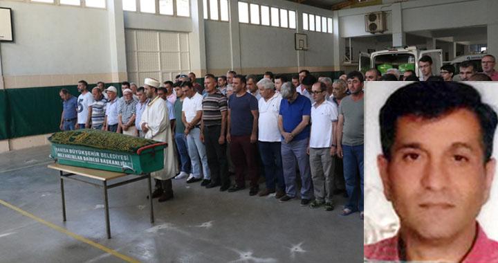 Antalya'da boğularak hayatını kaybeden pratisyen memleketinde son yolculuğuna uğurlandı