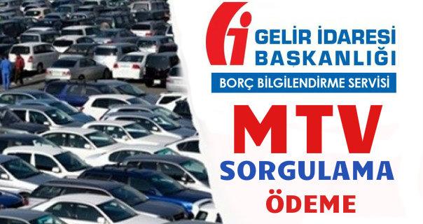 Motorlu Taşıtlar Vergisi (MTV) hesaplama ve ödeme sayfası