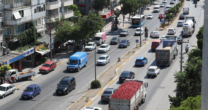 Bayram trafiği Akhisar'ı vurdu
