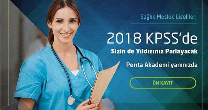 Penta Akademi'den Sağlık Meslek Lisesi mezunlarına duyuru