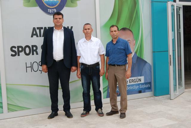 Akhisargücü, Salihli ve Turgutlu'daki spor tesislerini inceledi