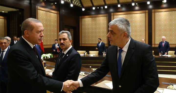 Teleset Mobilya Akhisarspor Başkanı Eryüksel, Cumhurbaşkanını davet etti