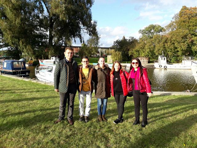 Fevzi Keskinoğlu Anadolu Lisesi Litvanya'dan döndü