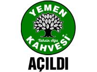 Yemen Kahvesi Akhisarlılara hizmet vermeye başladı