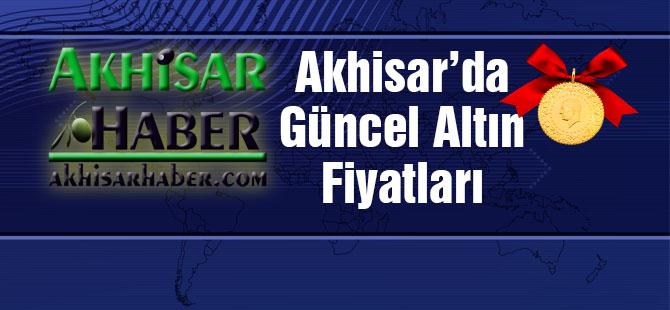 Akhisar'da 1 Kasım 2017 tarihli güncel altın fiyatları