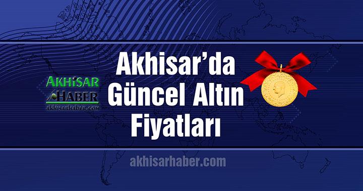 Akhisar'da 25 Temmuz 2018 tarihli güncel altın fiyatları