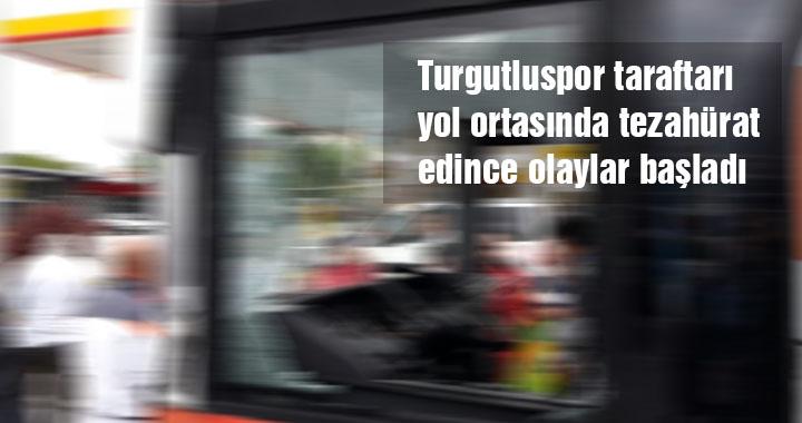 Turgutluspor taraftarından çirkin saldırı