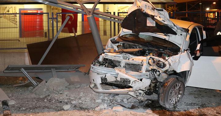 Akhisar'da trafik kazası