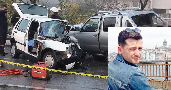 Feci trafik kazası; 1 kişi öldü 2 kişi yaralandı