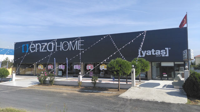 Akhisar Enza Home Yataş açıldı