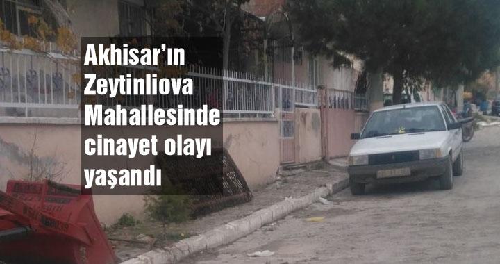 Zeytinliova'da karakol önünde cinayet