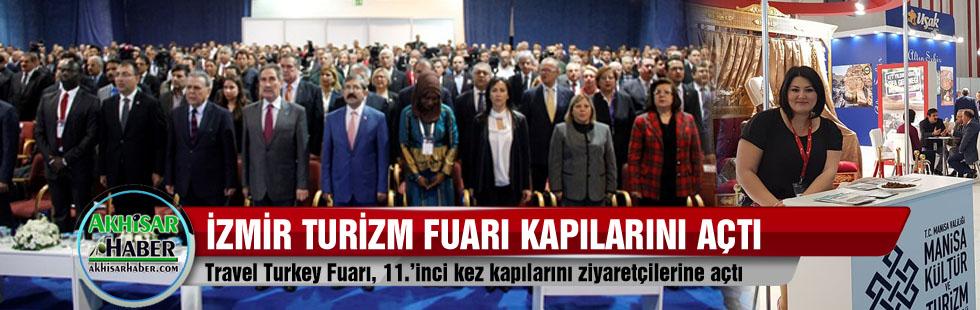 İzmir Turizm fuarı kapılarını açtı
