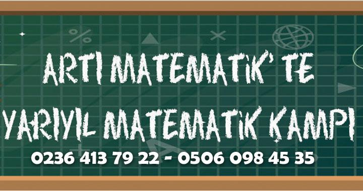 Artı Matematik'te yarıyıl matematik kampı